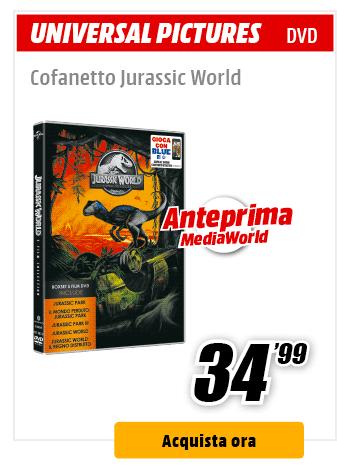 cofanetto Jurassic World DVD